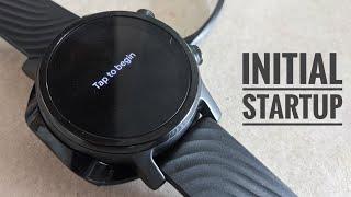 Moto360 WearOS Smartwatch: Initial Start-Up