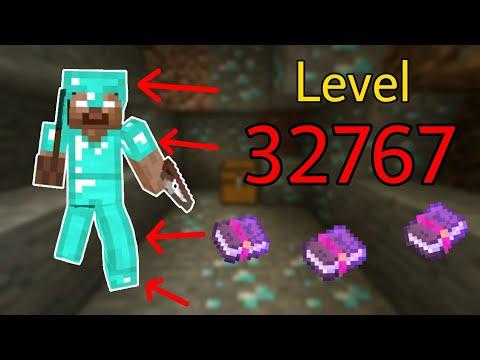 Những Điều Thú Vị Bạn Có Thể Làm Trong Minecraft – Phù Phép Giáp Level 32767