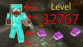 Những Điều Thú Vị Bạn Có Thể Làm Trong Minecraft - Phù Phép Giáp Level 32767