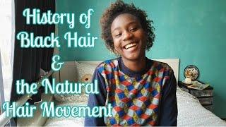 A Brief History Of Black Hair and the Natural Hair Movement [CC]