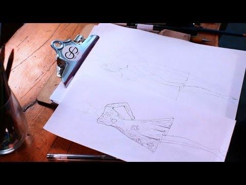 How To Retrace Fashion Sketch