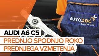 Kako zamenjati Vilica AUDI A5 Convertible (8F7) - priročnik