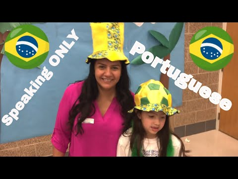 Speaking only Portuguese at school   The Brazilian Bunch