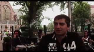 НИДЕРЛАНДЫ: Сидим у первого КофеШопа в Амстердаме... Голландия (Amsterdam Netherlands)