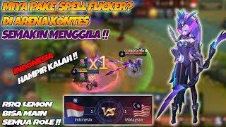 Ketika Miya Pake Spell Flicker Di Arena Kontes Semakin Menggila !! - Indonesia VS Malaysia