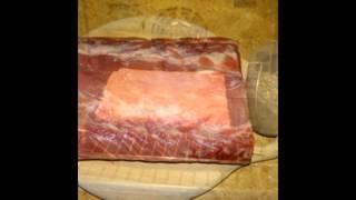 Холодные закуски мясные:Корейка в духовке Новогодняя