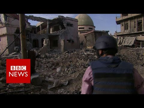 Mosul mosque: Last pictures of Mosul's al-Nuri mosque - BBC News