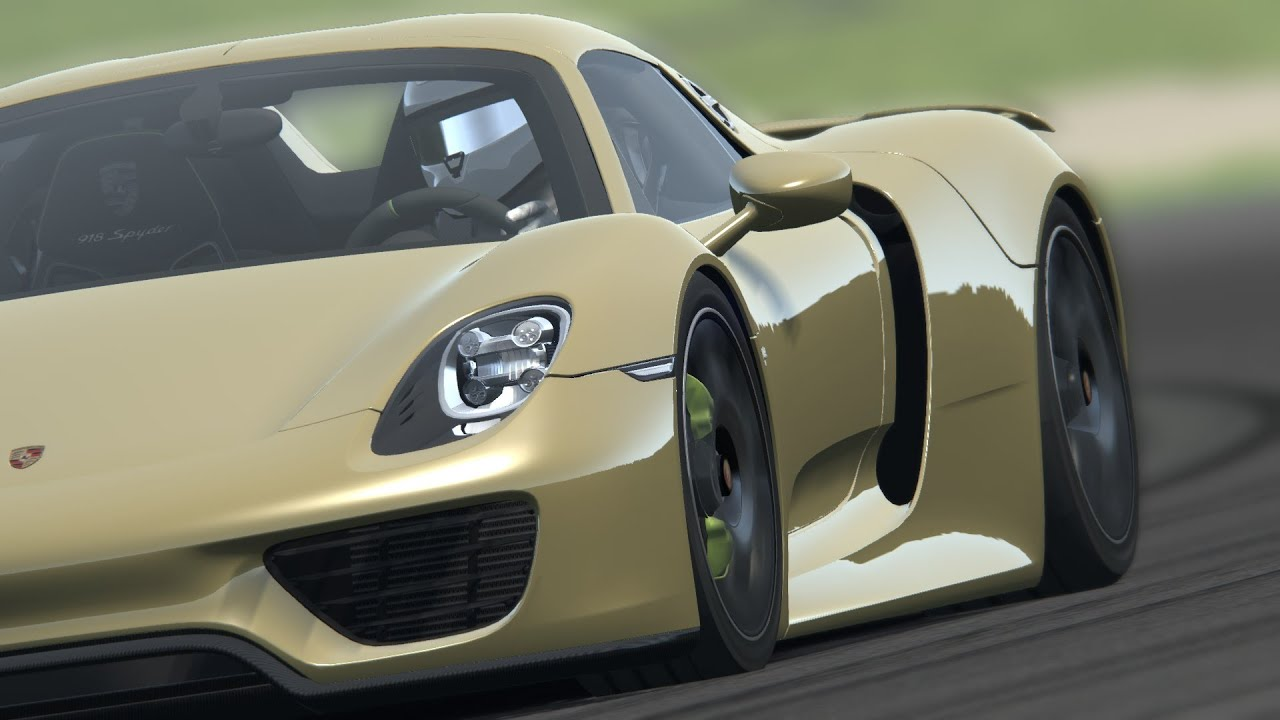 p porsche 918 spyder assetto corsa pc mugello gameplay full hd youtube. Black Bedroom Furniture Sets. Home Design Ideas