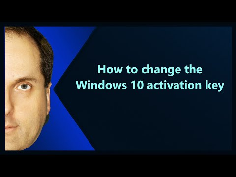 How to change the Windows 10 activation key