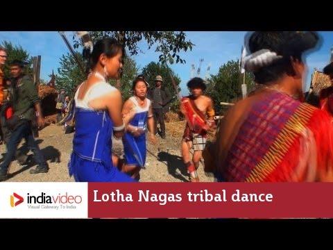 Lotha Nagas tribal dance, hornbill festival
