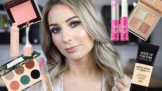 TESTING NEW PRODUCTS | DOSE OF COLORS, MAKEUP REVOLUTION, MUFE, AND MORE