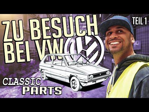 JP Performance - Brians Rallye Golf | Zu Besuch bei VW Classic Parts | Teil 1
