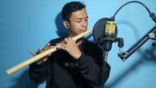 Adek Berjilbab Biru - Cover Suling Bambu