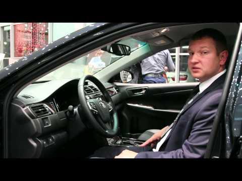 Обзор автомобиля Toyota Camry