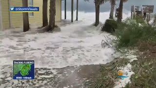 Hurricane Florence Makes Final Approach