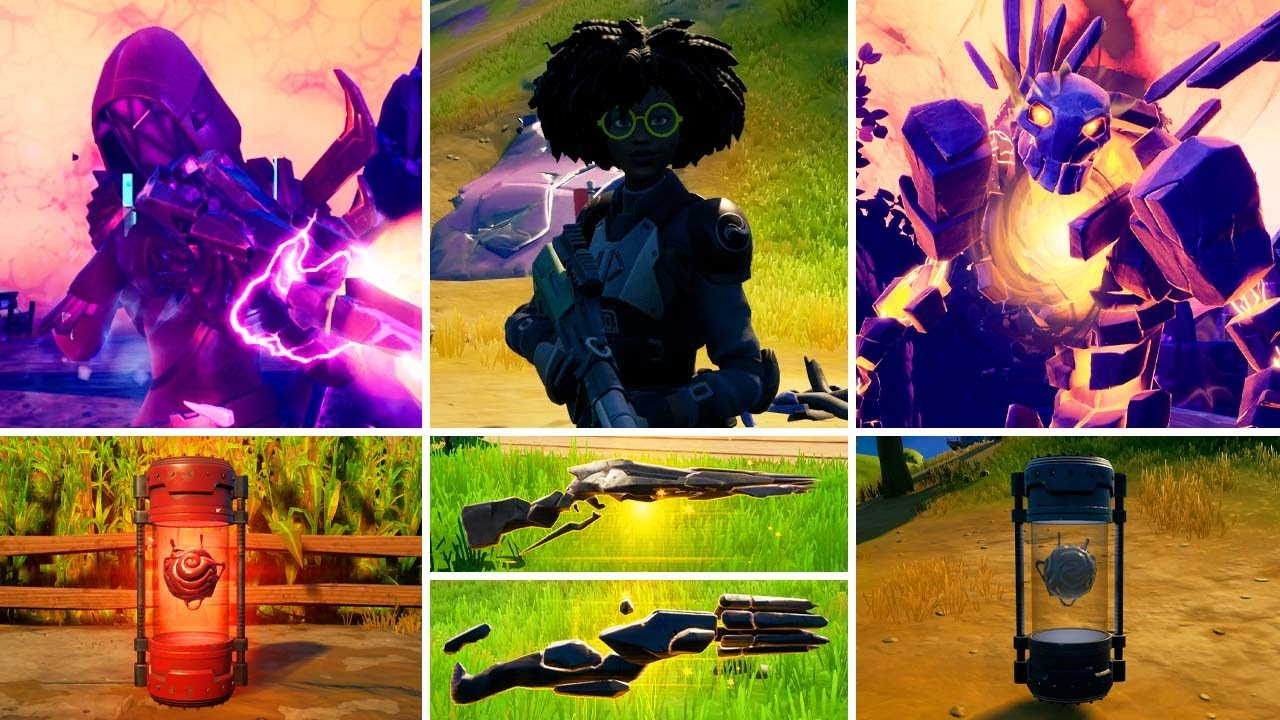 Download All New Bosses, Mythic Weapons & Exotic Weapons Guide - Fortnite Chapter 2 Season 8 (v18.00)