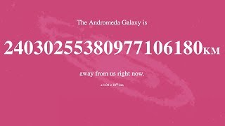How Far Away Is Andromeda?