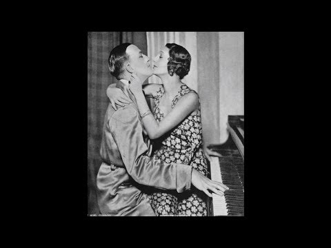 "Scene From ""Private Lives"" Act 2 Gertrude Lawrence and Noel Coward"