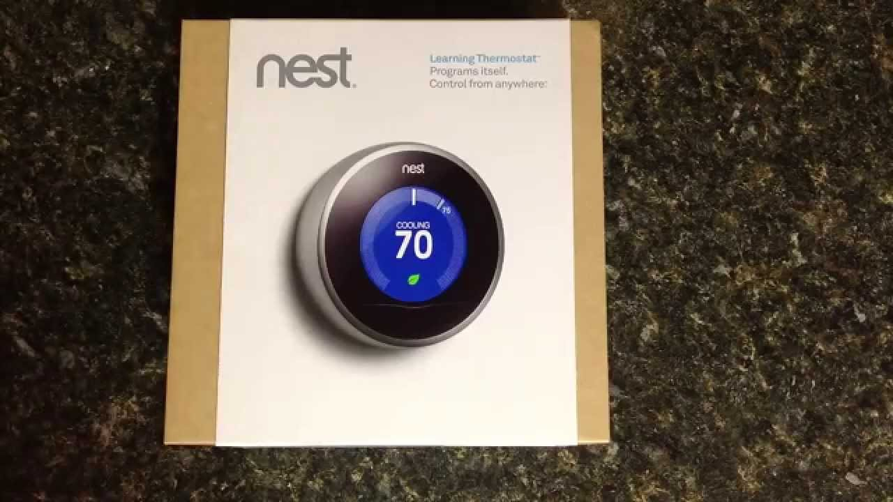 nest learning thermostat review 2nd gen youtube. Black Bedroom Furniture Sets. Home Design Ideas