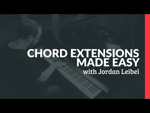 Chord Extensions Made Easy - Piano Lessons (Pianote)