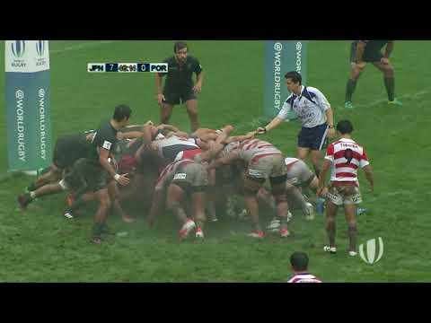 Japón U20 – Portugal U20 | World Rugby U20 Trophy 2017