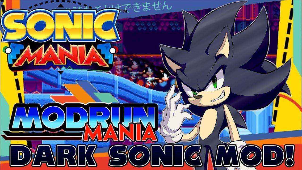 ✪ Sonic Mania Mods (PC) ✪ - Dark Sonic Mod! + Download (Modrun Mania):  Episode 3 (1080p/HD)