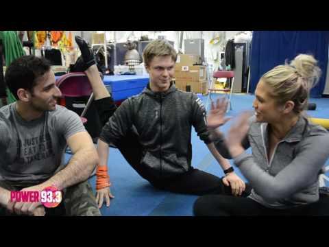 Carla Marie & Anthony visit Cirque du Soleil Luzia