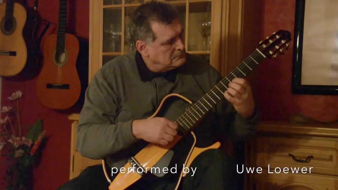 Yamaha silent guitar etude e minor f tarrega youtube for Yamaha silent guitar slg130nw