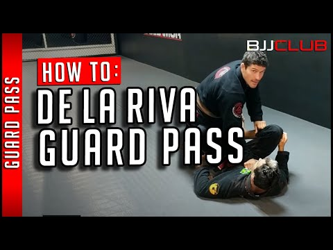 🆕 Slick De La Riva Guard Pass 🏻 BJJ Guard Passing Concepts - BJJCLUB - BJJ