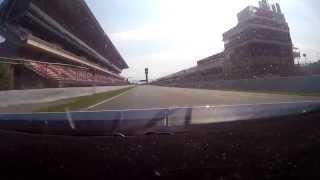 Chevrolet Cruze WTCC TC1 onboard Circuit de Catalunya (Mato Homola)