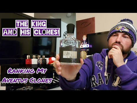 Ranking Creed Aventus Clones / From My Collection / Fragrance / Cologne / Perfume