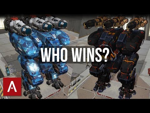 War Robots Test Server 3.5: Fury REDEEMER vs Fury EMBER - Who Wins?