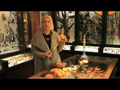 Colours & Value of Amber - Rasa Puronaitė, Amber Gallery-Museum, Lithuania  - Unravel Travel TV