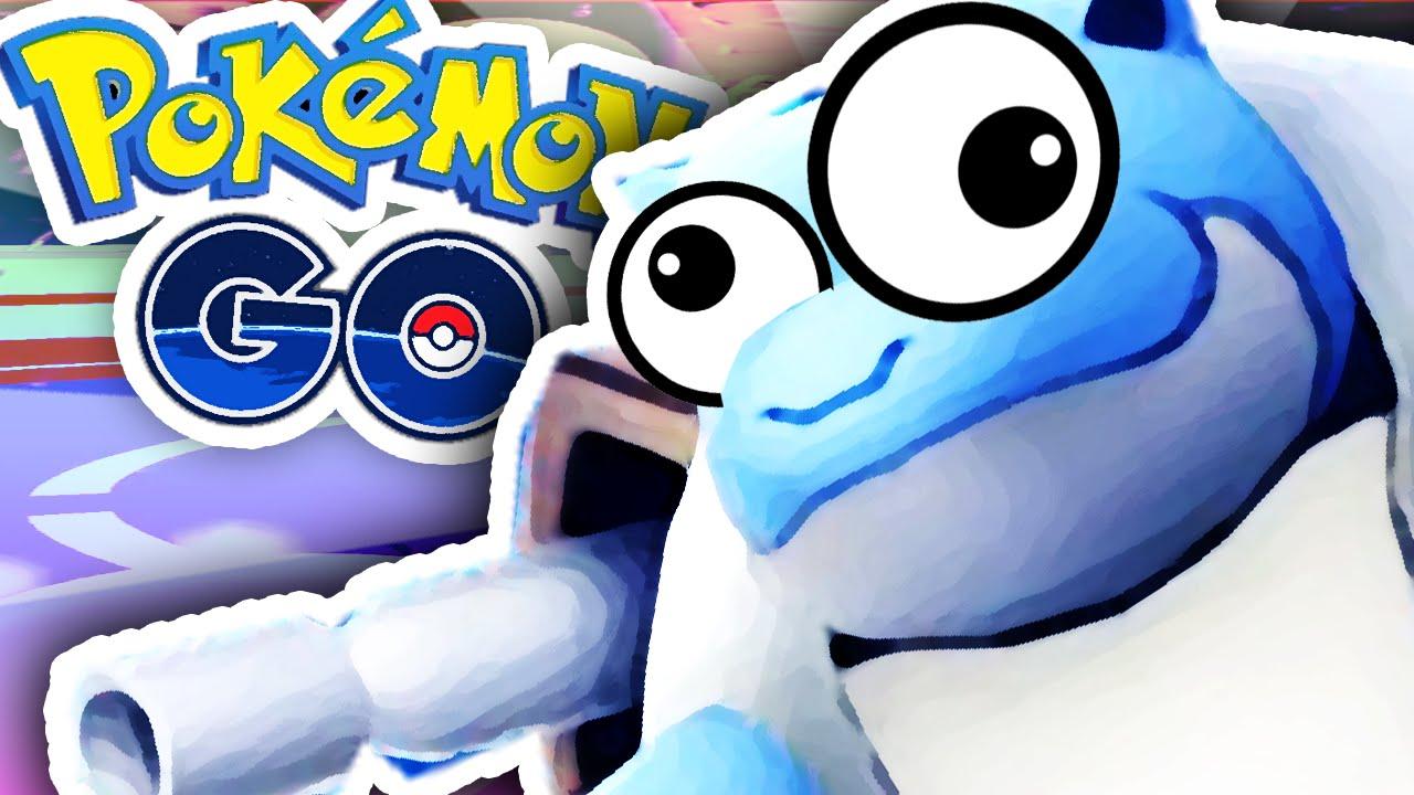 Pokemon Go Worst Blastoise You Ve Ever Seen Youtube