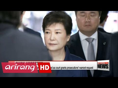 Ex-president Park Geun-hye arrested on corruption charges