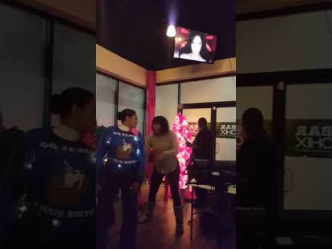 "Trina,Traci Towanda preforming ""He Wasn't Man Enough"" Karaoke Version"