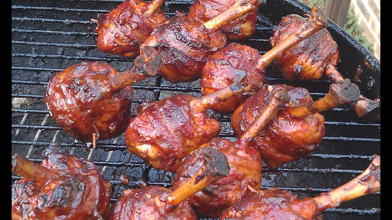 Bacon Wrapped Smoked Chicken Lollipops Ray Macks