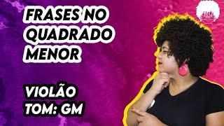 4 frases chave no quadrado de GM para violão no samba 🎶 #prihpeixoto