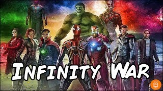 Avengers Infinity War D23 Footage Description & Details
