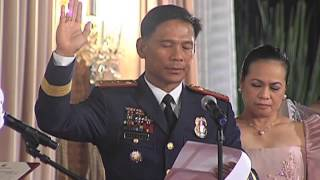 Philippine National Police Oath-Taking Ceremony 8/12/2015