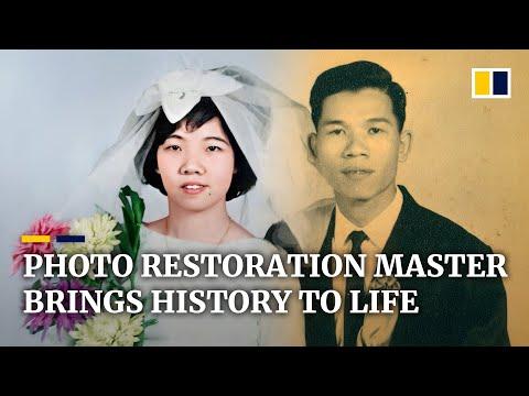 Hong Kong photo restoration master brings history back to life