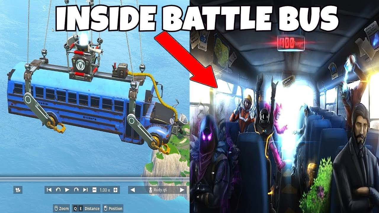 What Happens Inside The Battle Bus Before You Drop In ...