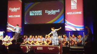 Manu Samoa Welcome Ceremony 2015 Rugby World Cup