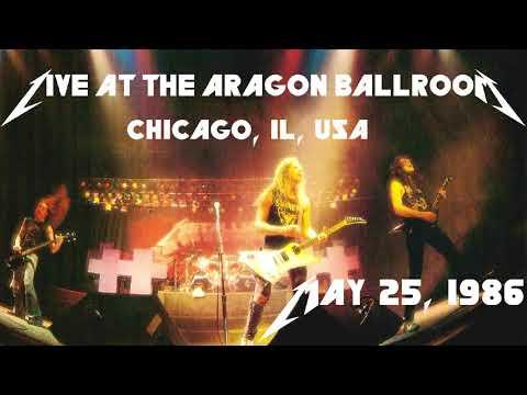 Metallica - Live at The Aragon Ballroom, Chicago, IL, USA (1986) [SBD Audio Only]