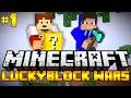Minecraft Lucky Block Wars   ?eský Let's Play #1 w/ K??a [Porty]