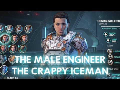Mass Effect Andromeda: Meet the Human Male Engineer