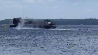 Swedish Navy Hoovercraft 304