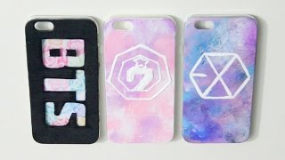 DIY Kpop Phone Case Ideas - GOT7, BTS & EXO | heyimvicky