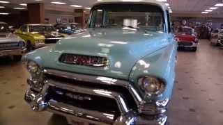 Walk Around & Start 1955 GMC Pickup #2454