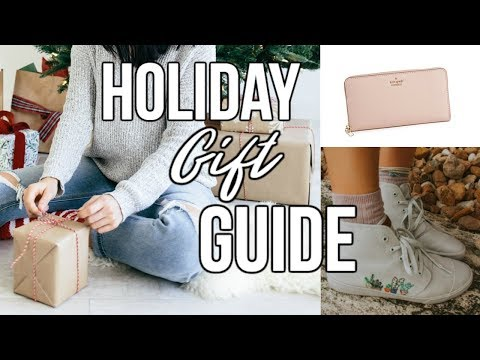 Holiday Gift Guide for Women 2017 + Giveaway!